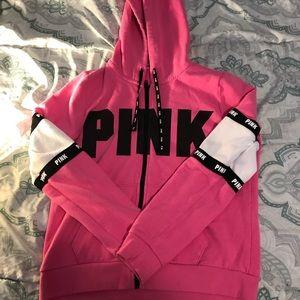Cute zip up pink jacket